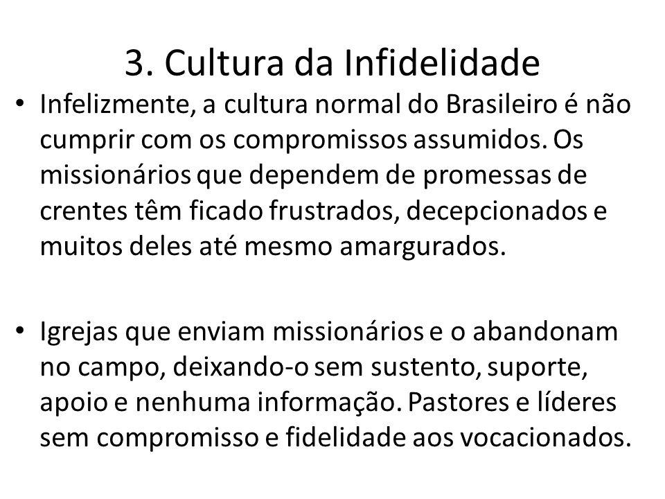 3. Cultura da Infidelidade