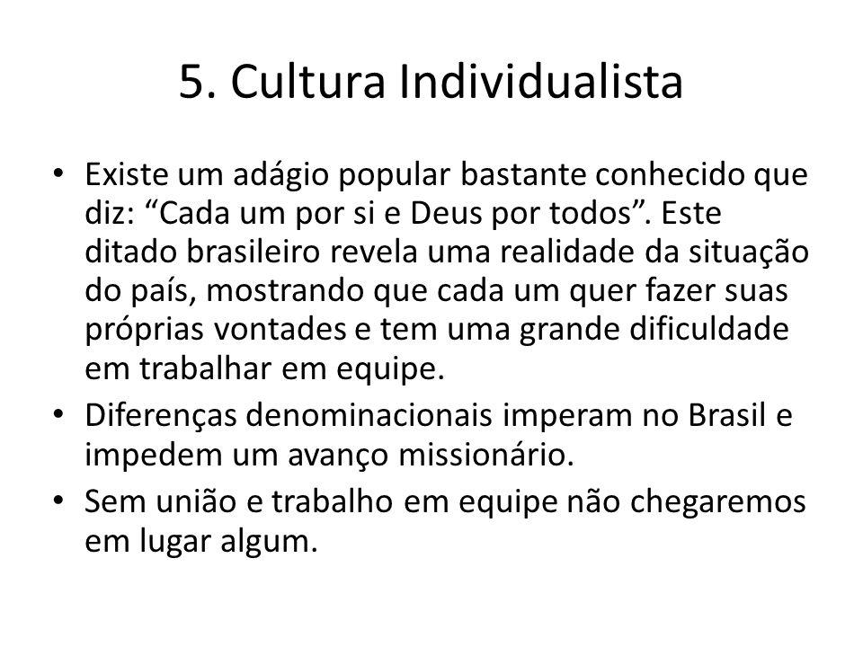 5. Cultura Individualista