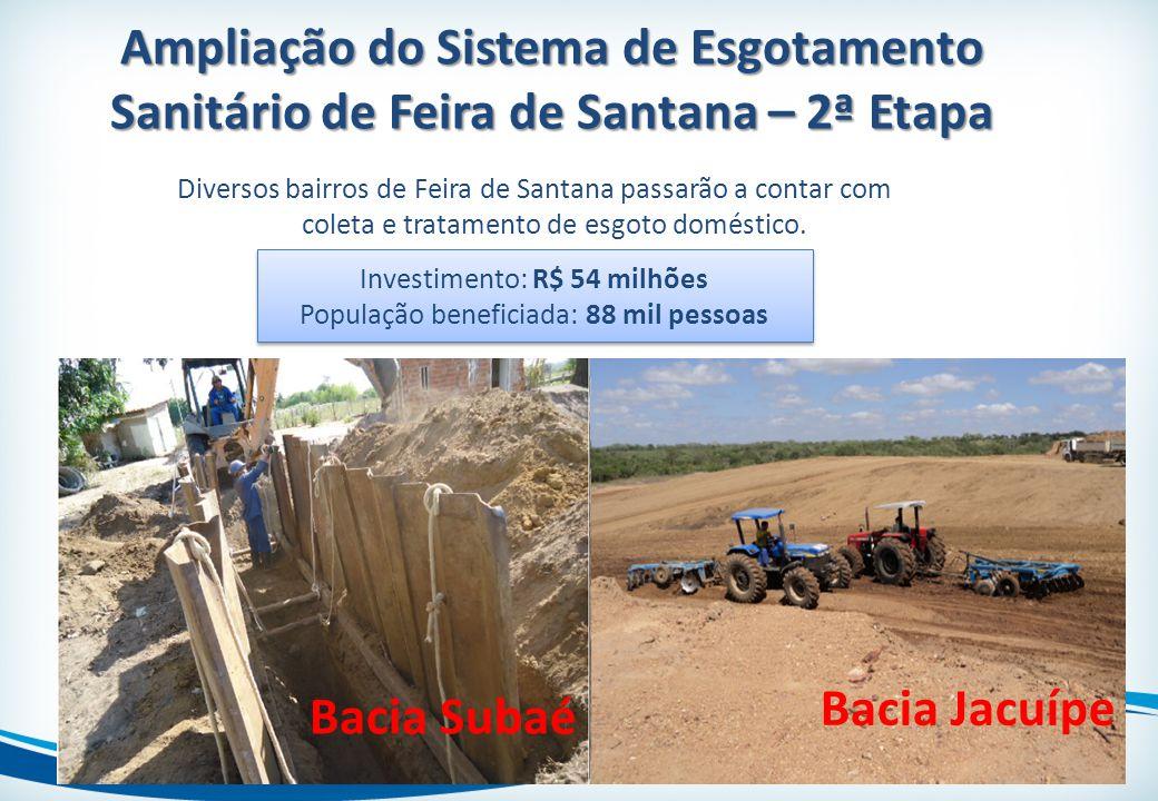 Ampliação do Sistema de Esgotamento Sanitário de Feira de Santana – 2ª Etapa