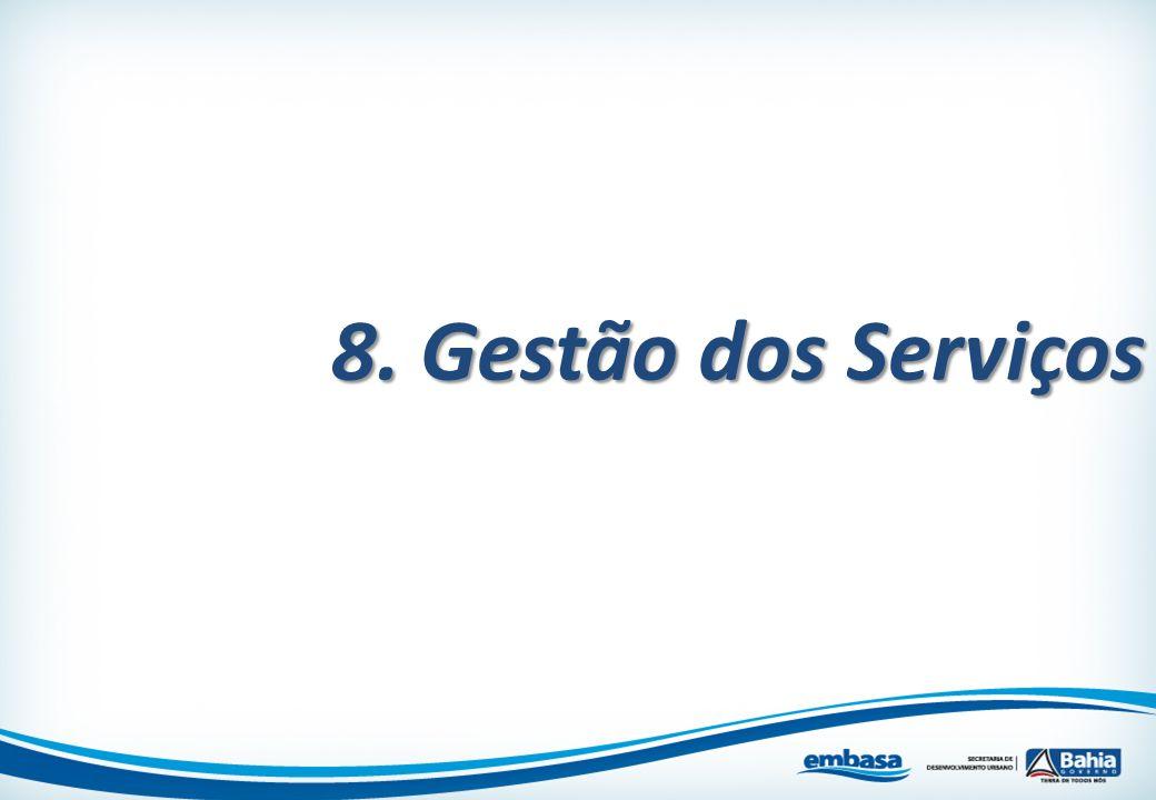 8. Gestão dos Serviços