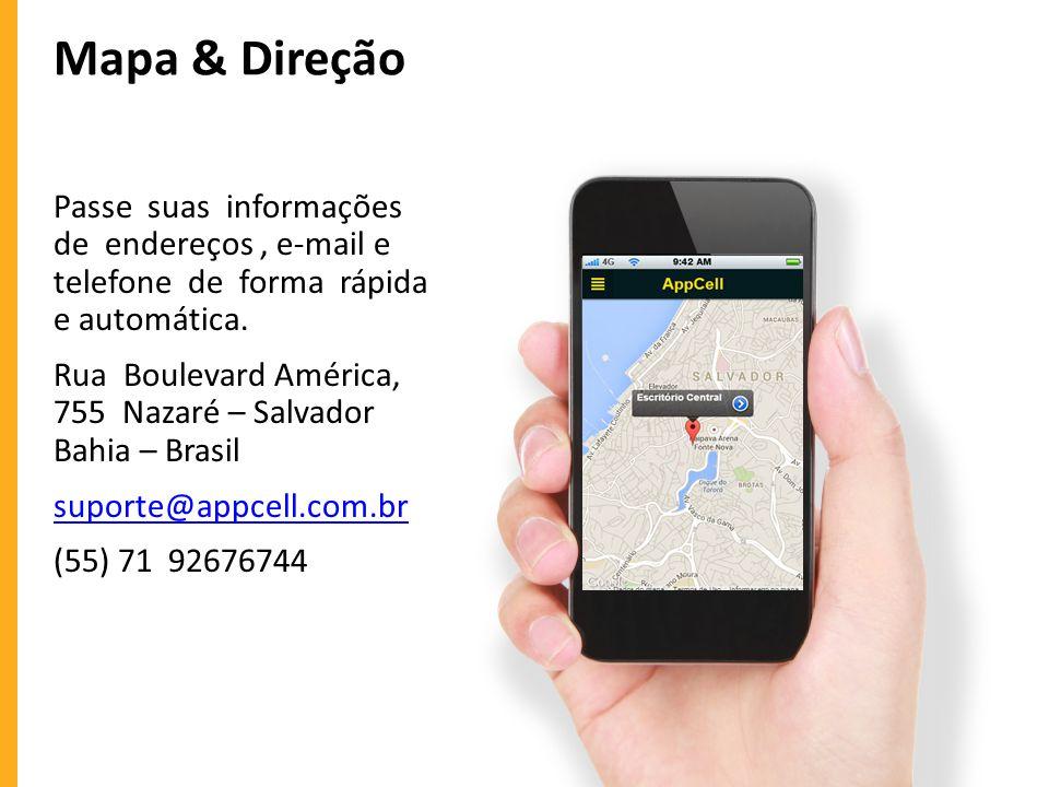 Mapa & Direção