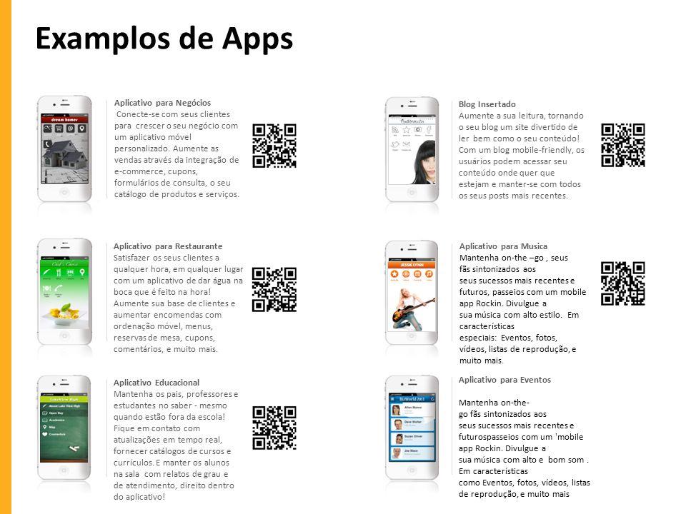 Examplos de Apps