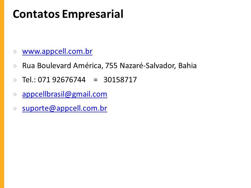 Contatos Empresarial www.appcell.com.br
