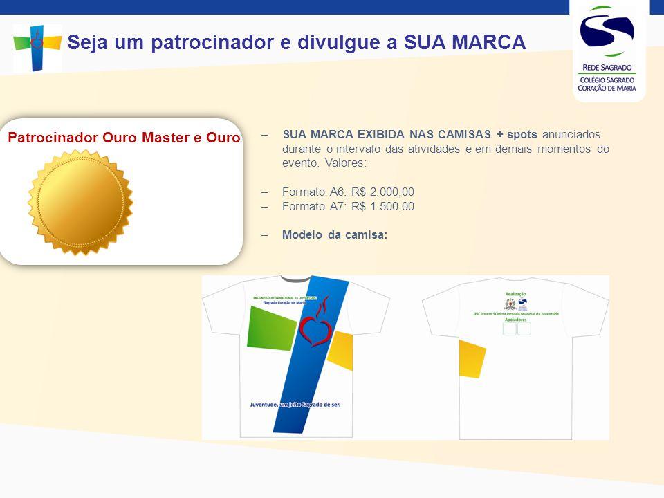 Patrocinador Ouro Master e Ouro