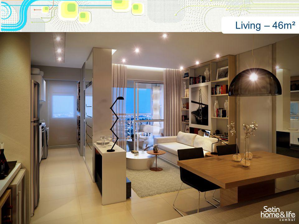 Living – 46m²