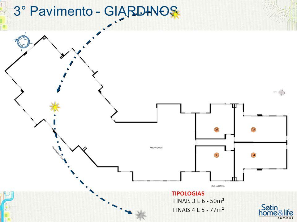 3° Pavimento - GIARDINOS