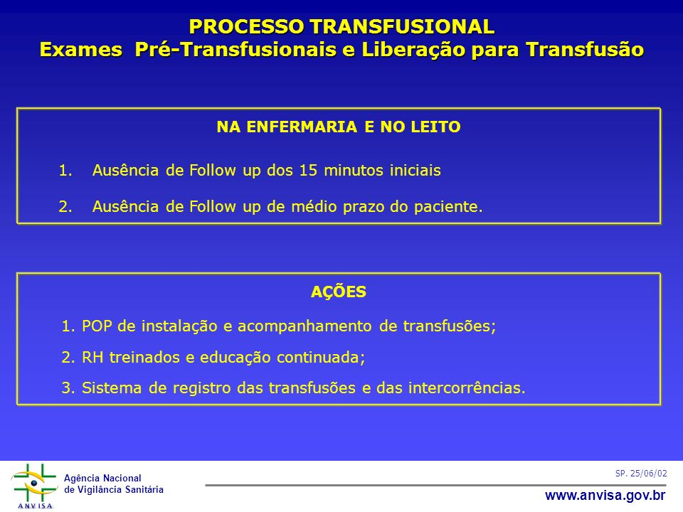 PROCESSO TRANSFUSIONAL