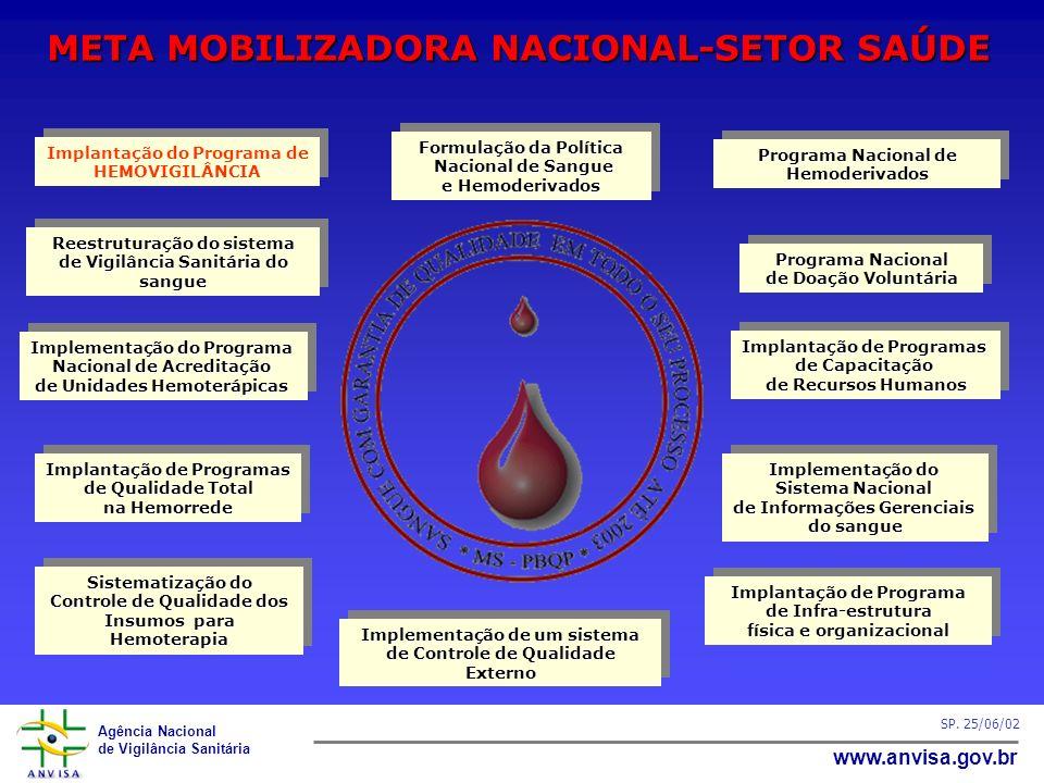 META MOBILIZADORA NACIONAL-SETOR SAÚDE
