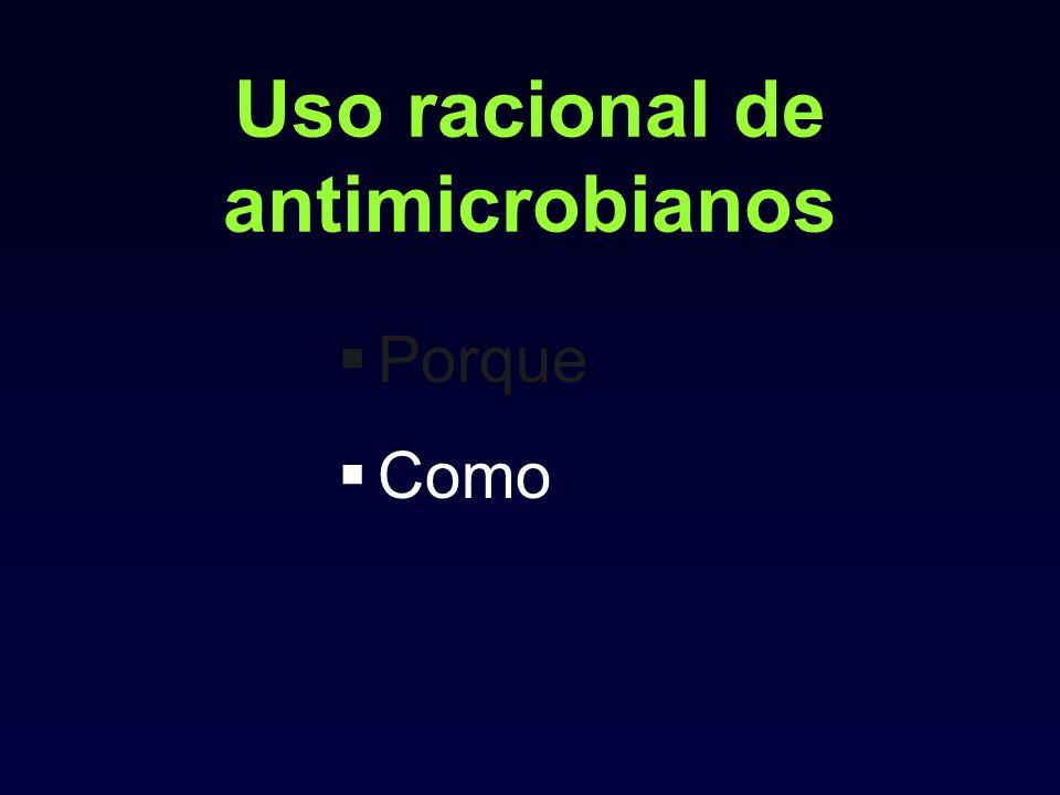 Uso racional de antimicrobianos