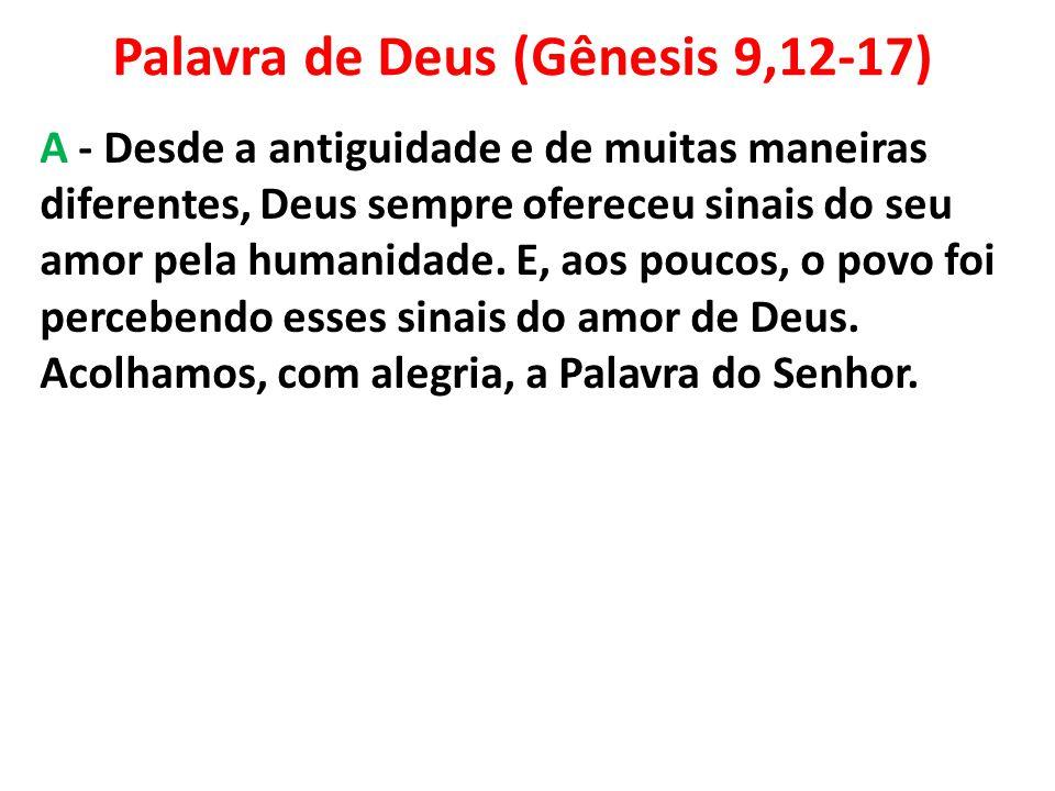Palavra de Deus (Gênesis 9,12-17)