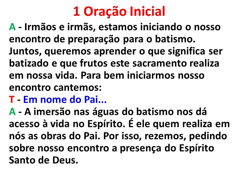 1 Oração Inicial