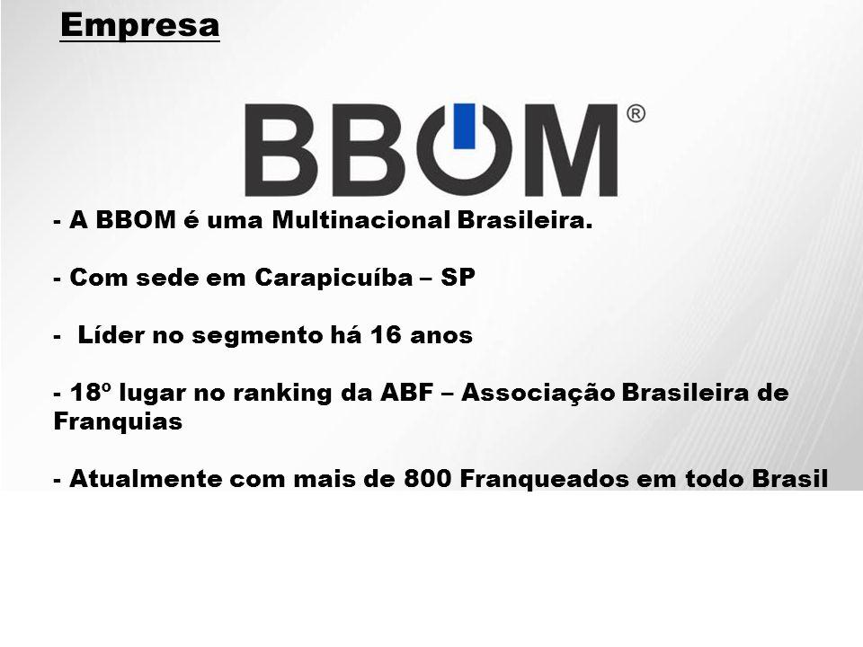 Empresa A BBOM é uma Multinacional Brasileira.