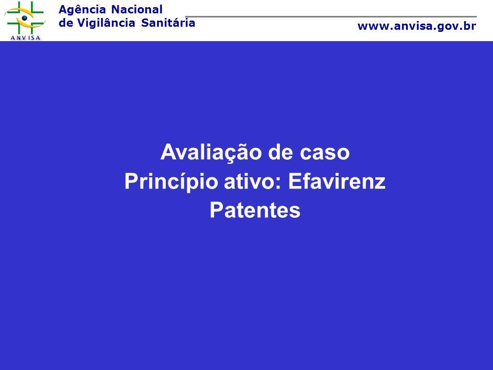 Princípio ativo: Efavirenz