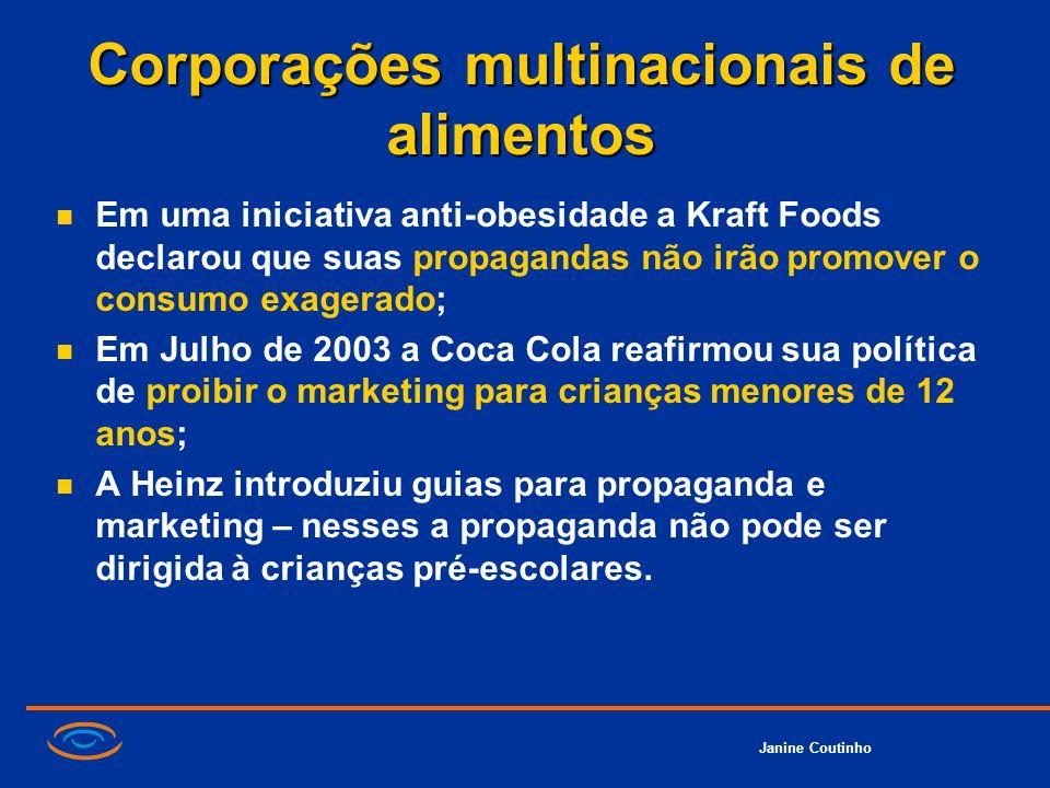 Corporações multinacionais de alimentos
