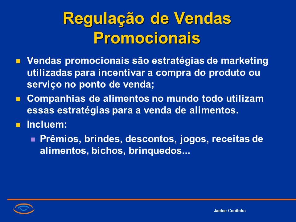 Regulação de Vendas Promocionais
