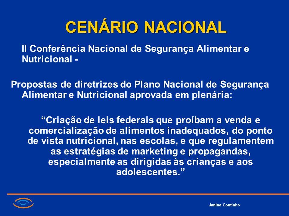 CENÁRIO NACIONAL II Conferência Nacional de Segurança Alimentar e Nutricional -