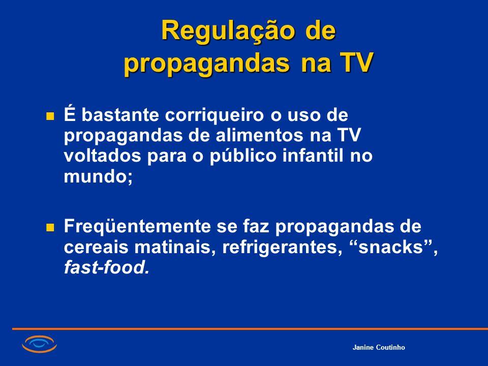 Regulação de propagandas na TV