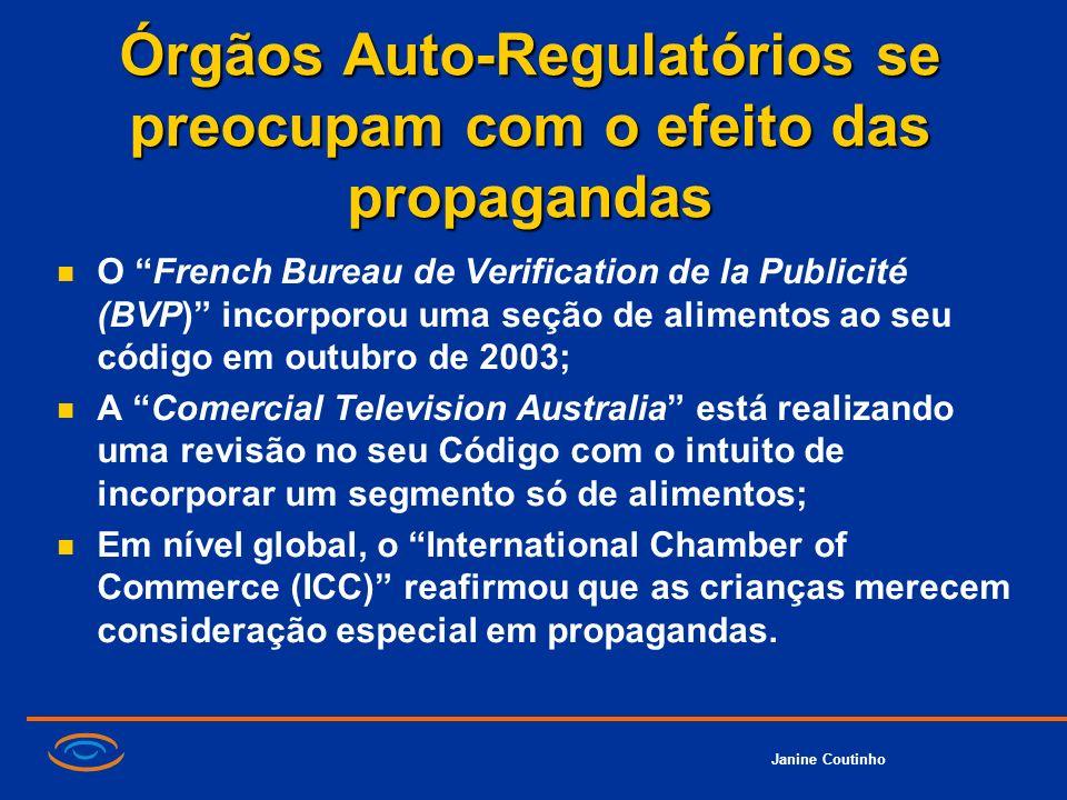Órgãos Auto-Regulatórios se preocupam com o efeito das propagandas