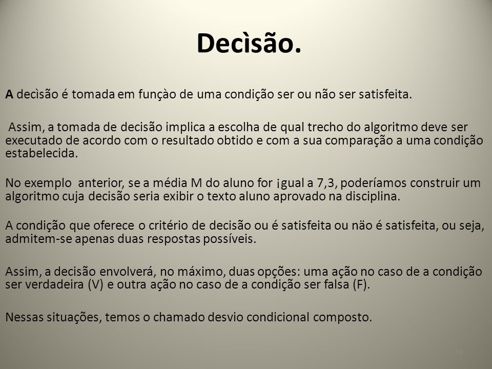 Decìsão.