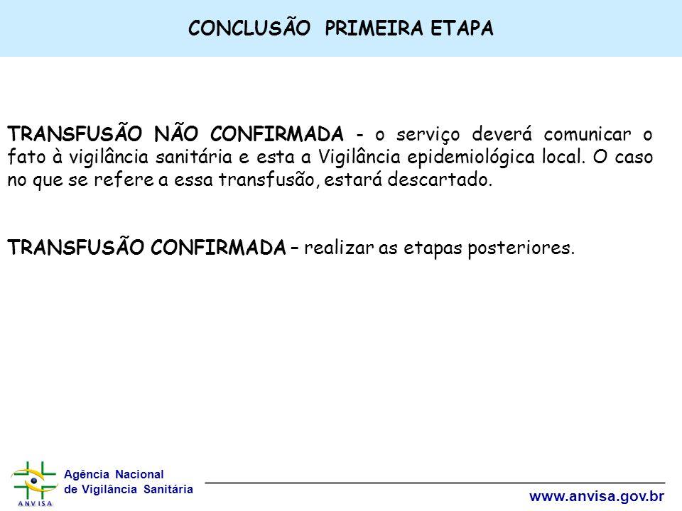 CONCLUSÃO PRIMEIRA ETAPA