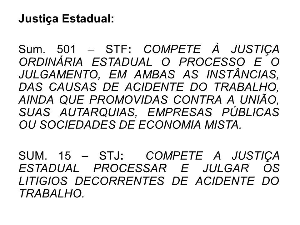 Justiça Estadual: