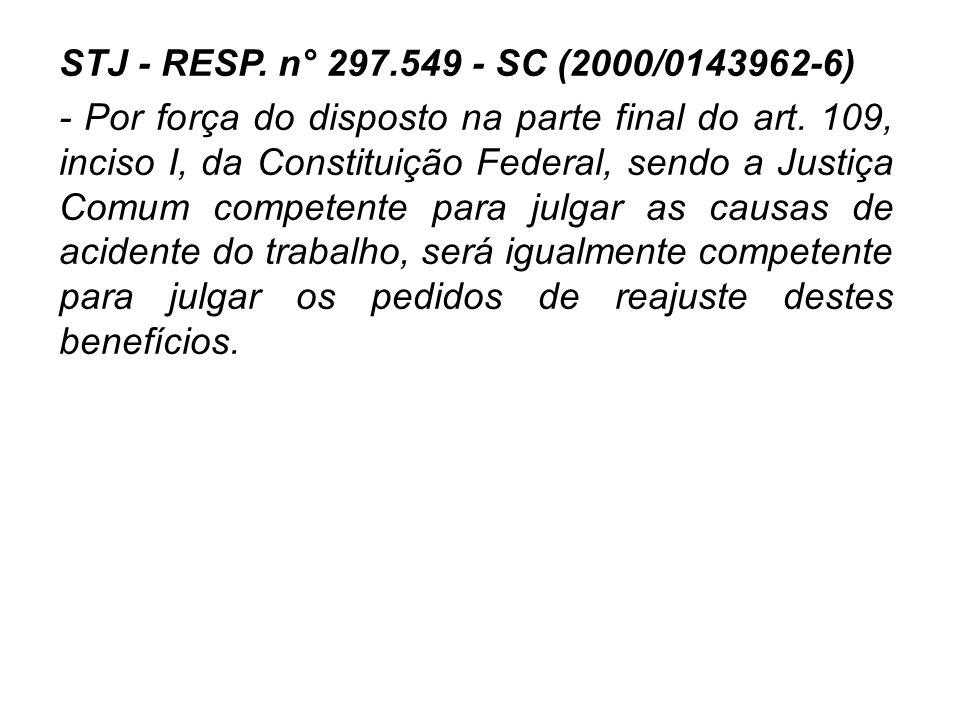 STJ - RESP. n° 297.549 - SC (2000/0143962-6)