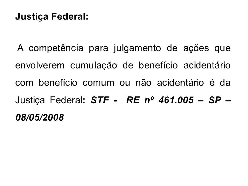 Justiça Federal: