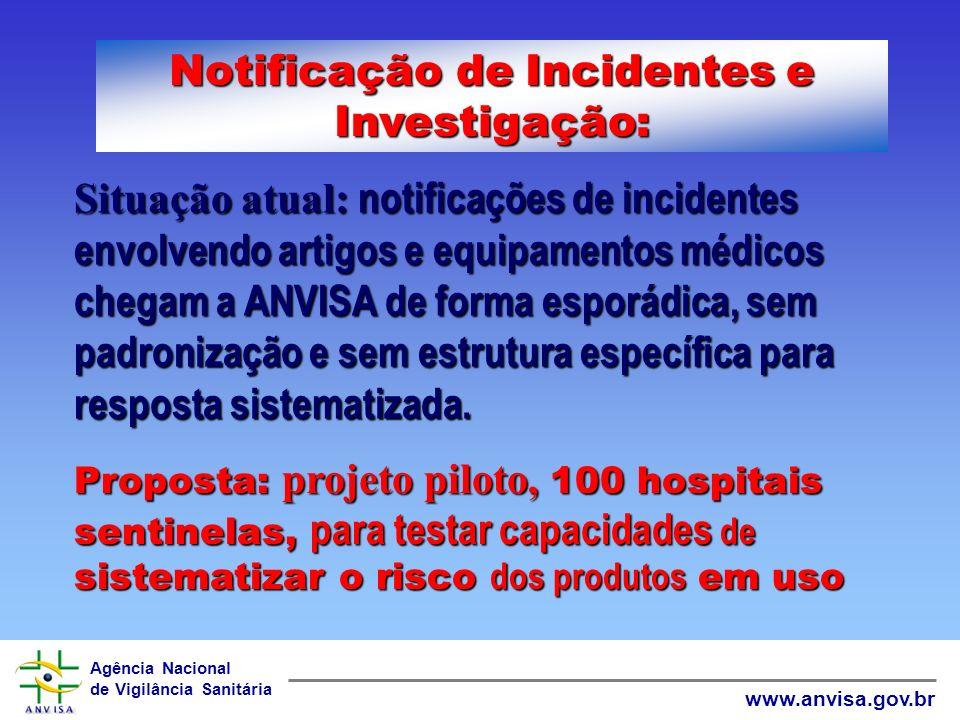 Notificação de Incidentes e Investigação: