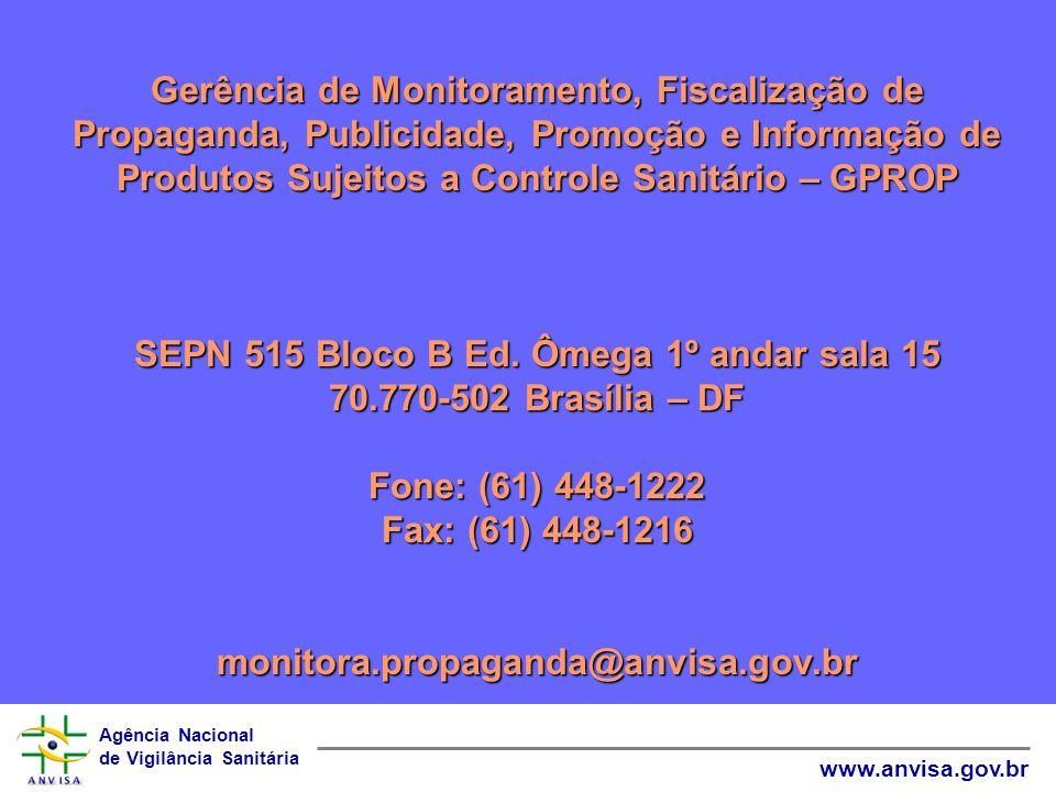 SEPN 515 Bloco B Ed. Ômega 1º andar sala 15 70.770-502 Brasília – DF