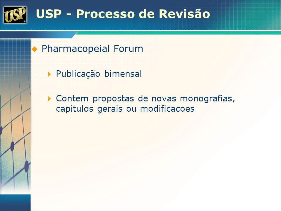 USP - Processo de Revisão