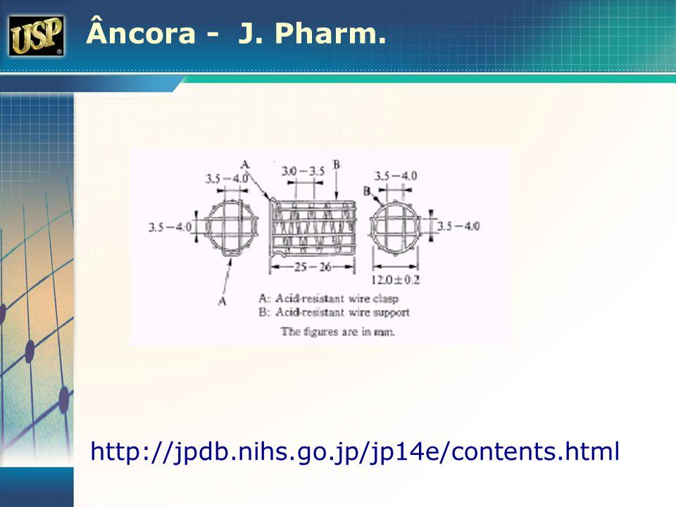 Âncora - J. Pharm. http://jpdb.nihs.go.jp/jp14e/contents.html