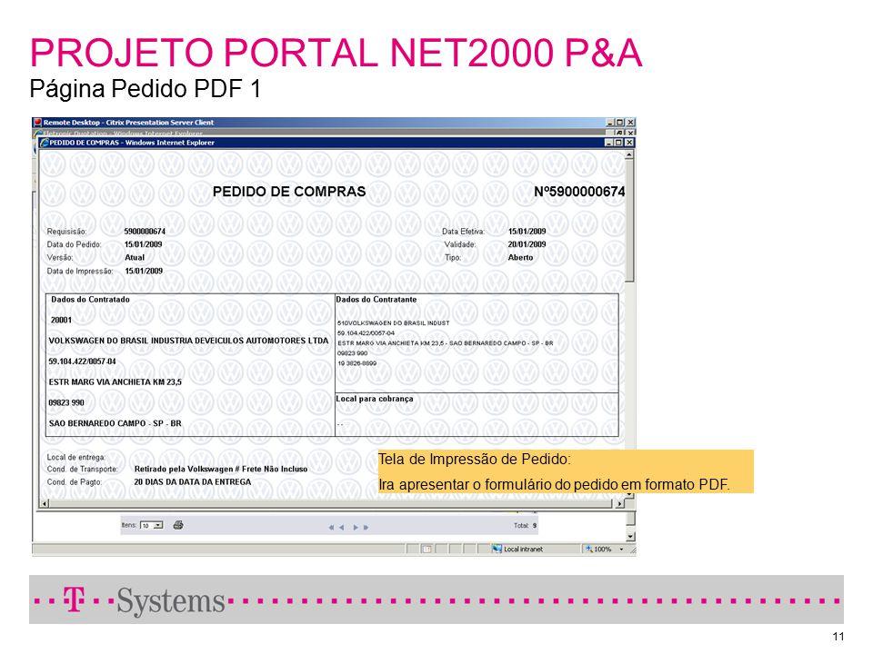 PROJETO PORTAL NET2000 P&A Página Pedido PDF 1