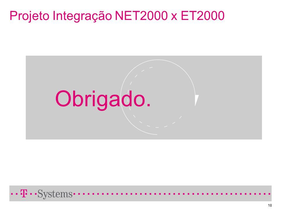 Projeto Integração NET2000 x ET2000