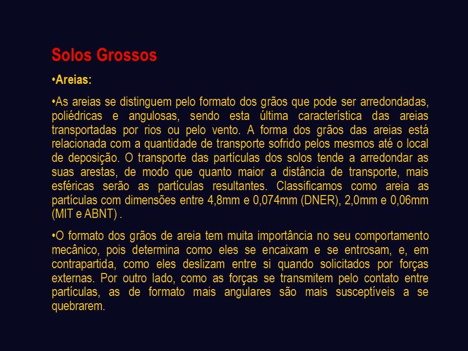 Solos Grossos Areias: