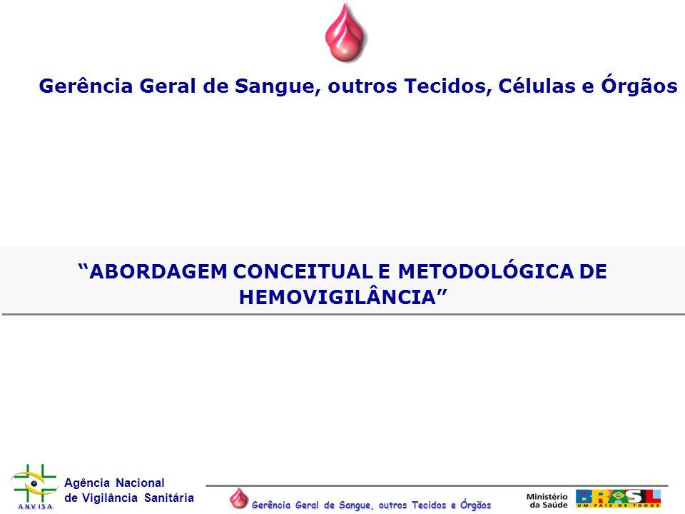 Gerência Geral de Sangue, outros Tecidos, Células e Órgãos
