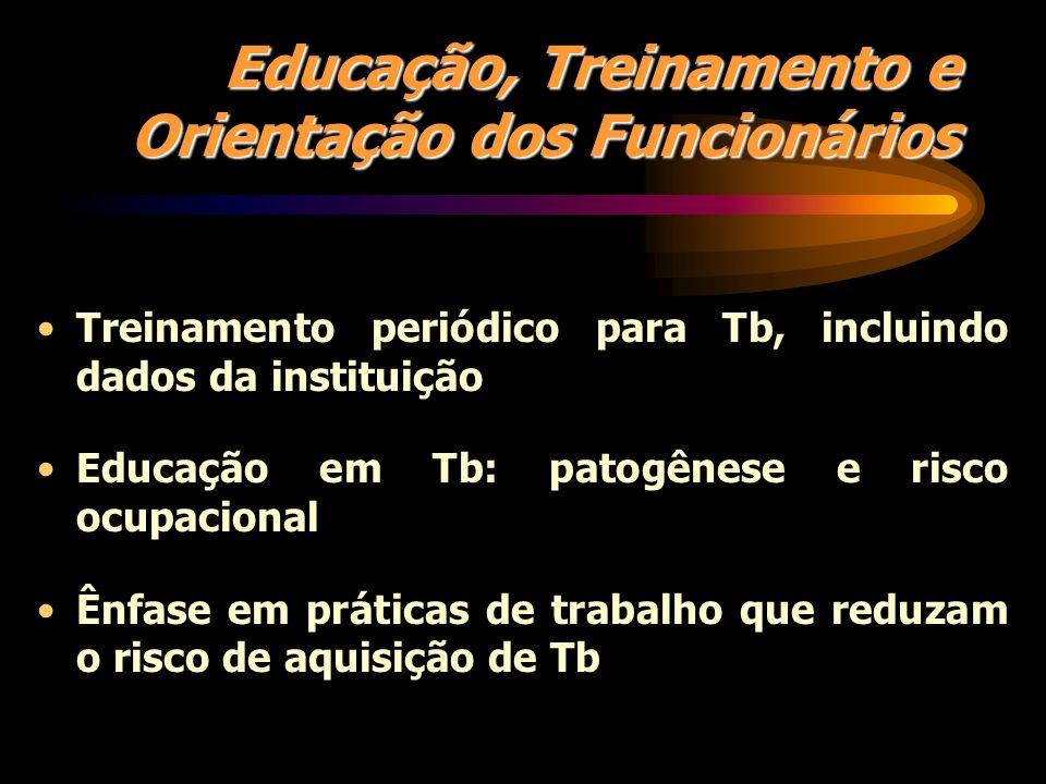 Educação, Treinamento e Orientação dos Funcionários