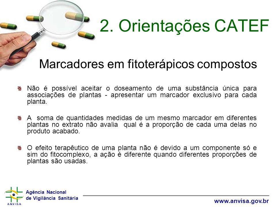 2. Orientações CATEF Marcadores em fitoterápicos compostos