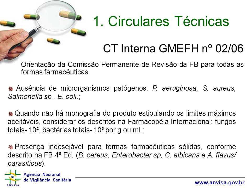 CT Interna GMEFH nº 02/06 1. Circulares Técnicas