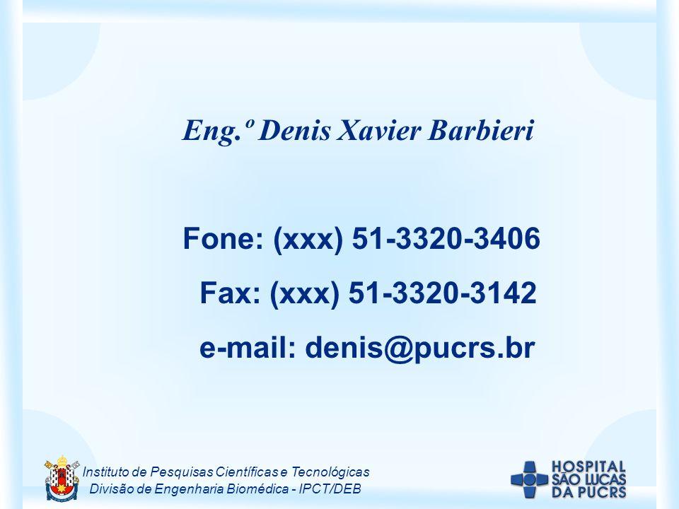 Eng.º Denis Xavier Barbieri