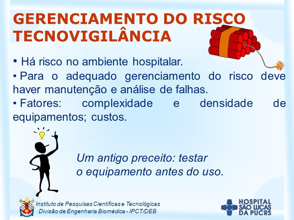 GERENCIAMENTO DO RISCO TECNOVIGILÂNCIA