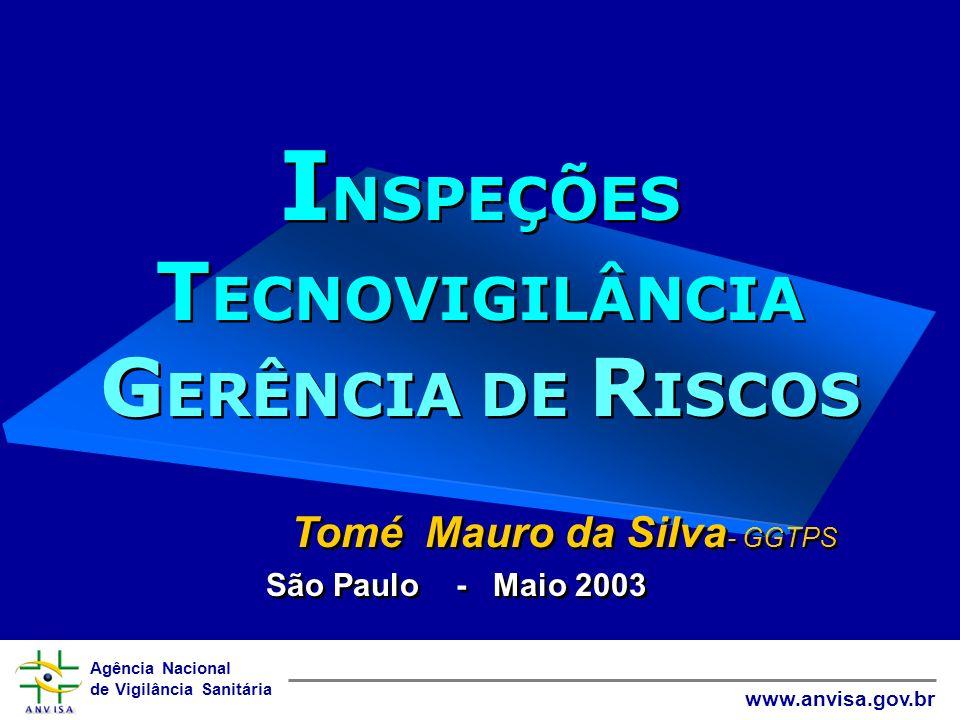 INSPEÇÕES TECNOVIGILÂNCIA