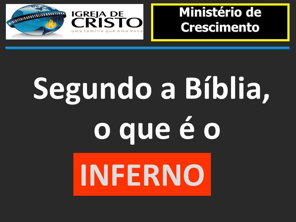 Ministério de Crescimento Segundo a Bíblia, o que é o