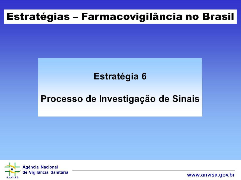 Processo de Investigação de Sinais