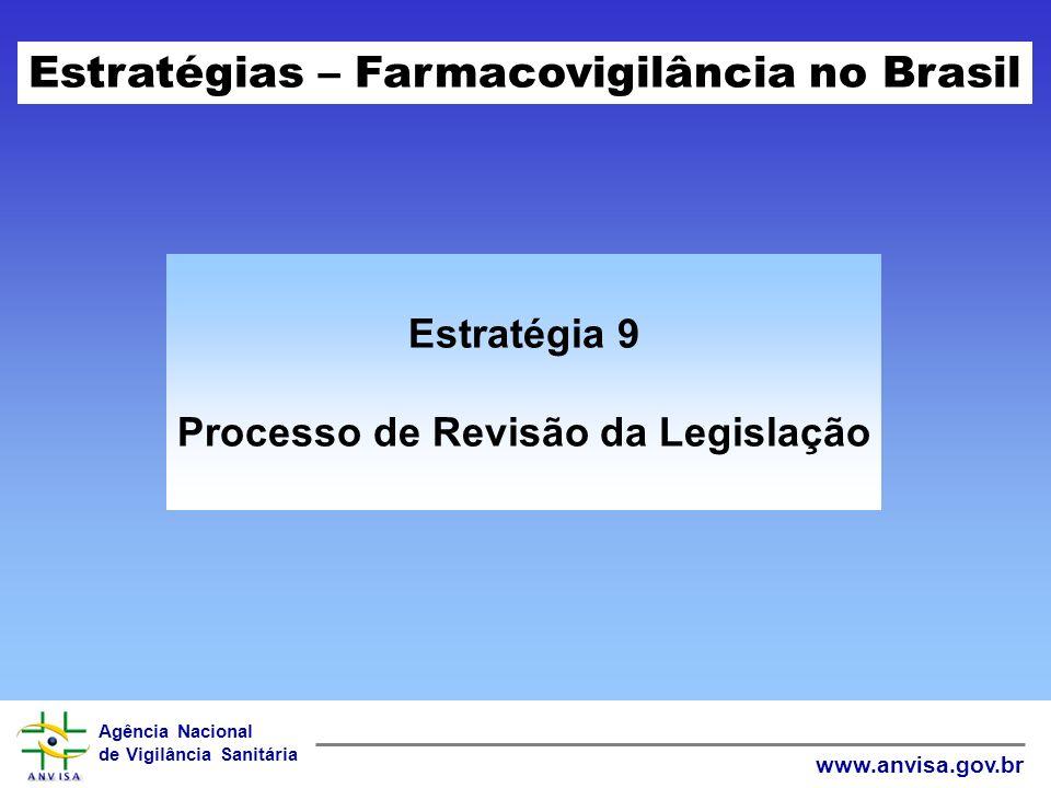 Processo de Revisão da Legislação