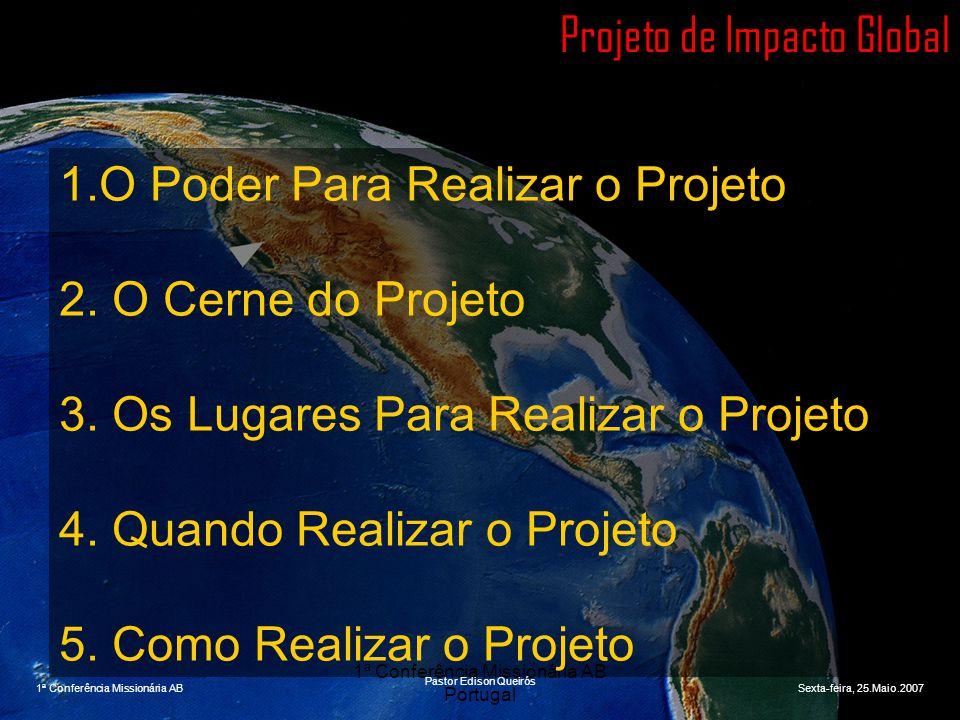 1ª Conferência Missionária AB Portugal