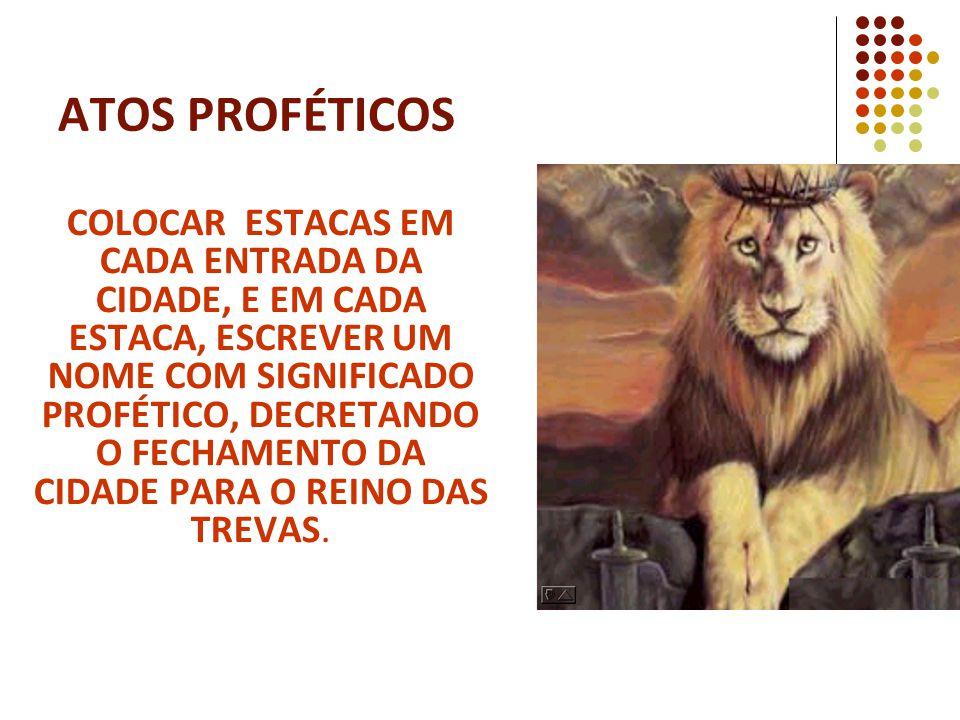 ATOS PROFÉTICOS