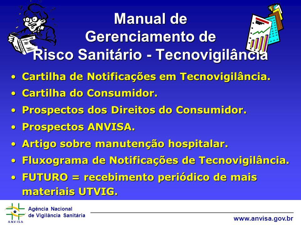 Manual de Gerenciamento de Risco Sanitário - Tecnovigilância