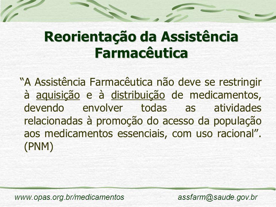 Reorientação da Assistência Farmacêutica