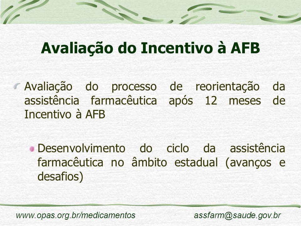 Avaliação do Incentivo à AFB