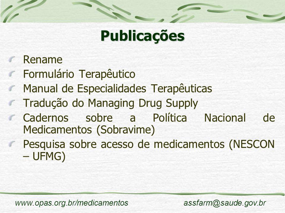 Publicações Rename Formulário Terapêutico